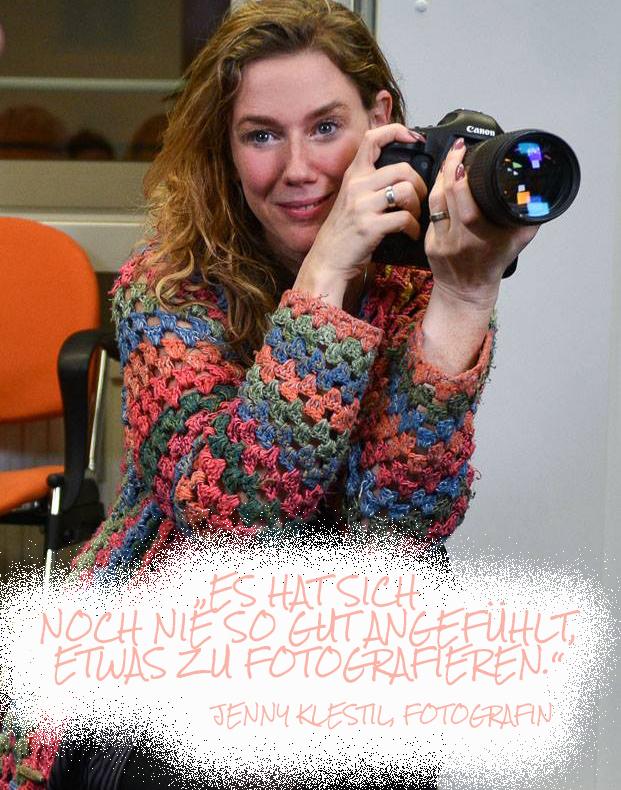 """Photo of gefilmt! """"Das Feedback ist irre!"""" Fotografin Jenny Klestil über ihr Projekt """"Glück kennt keine Behinderung."""""""