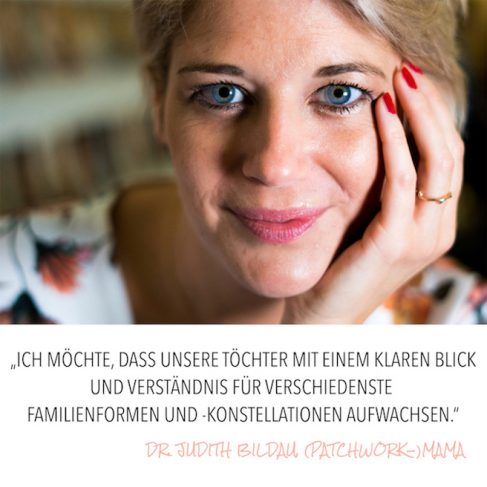 Patchworkfamilie - das Ende der 'heilen' Familie? Ein Artikel von Dr. Judith Bildau.