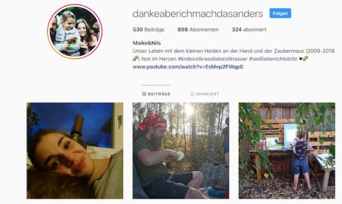 Krebstod Tod Tochter Leben Elternsein Eltern Liebe Dankeaberichmachdasanders Instagram Youtube MutterKutter