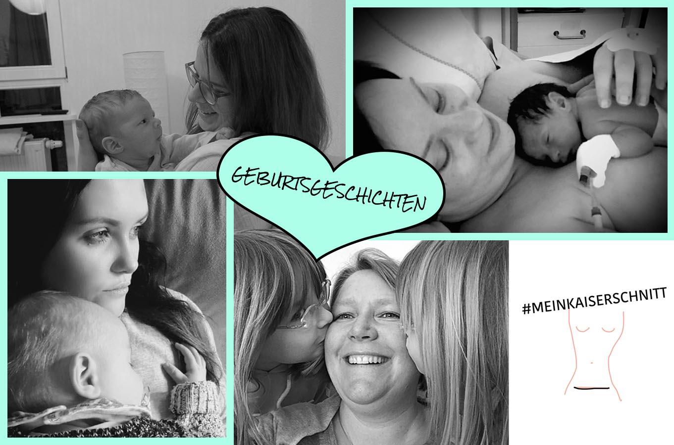 Geburtsgeschichten mein Kaiserschnitt Mama zwei Kaiserschnitte MutterKutter